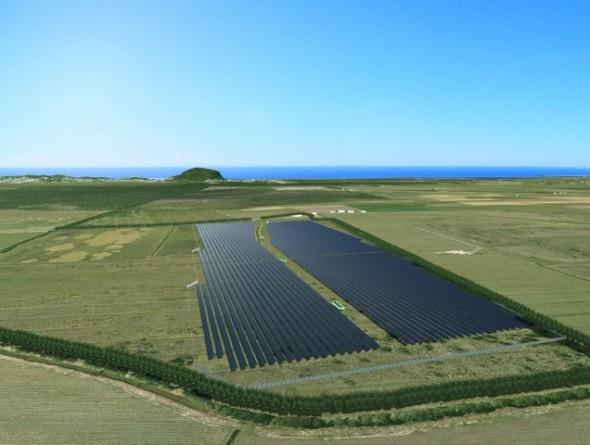 Sunshine Coast Solar Farm In Progress South East